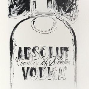 1999 Andy Warhol print Absolut VodKa 3 Pop Art
