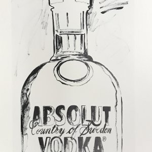 Andy Warhol  print  Absolut VodKa 4,  1999   Pop Art , Contemporary