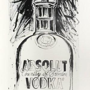 Andy Warhol  print  Absolut VodKa 5,  1999,   Pop Art , Contemporary
