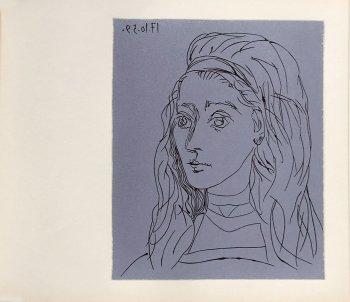 Pablo Picasso 20, Linogravures Jaqueline, 1962