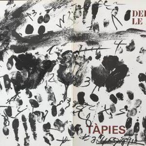 Tapies Original lithograph, DM12175d, DLM 1968