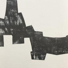 Eduardo Chillida, Lithograph DM09174r, Derriere le miroir 1968