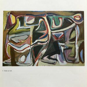 Bram Van Velde DM07240, Derriere le Miroir 1980