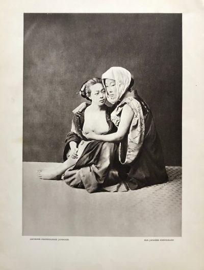 Ancienne Japonese Photogravure Nude 1, Verve 1939
