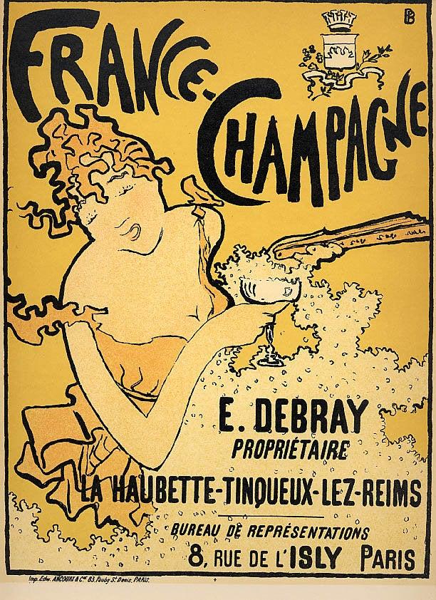 Bonnard Lithograph 17, France Champagne1952