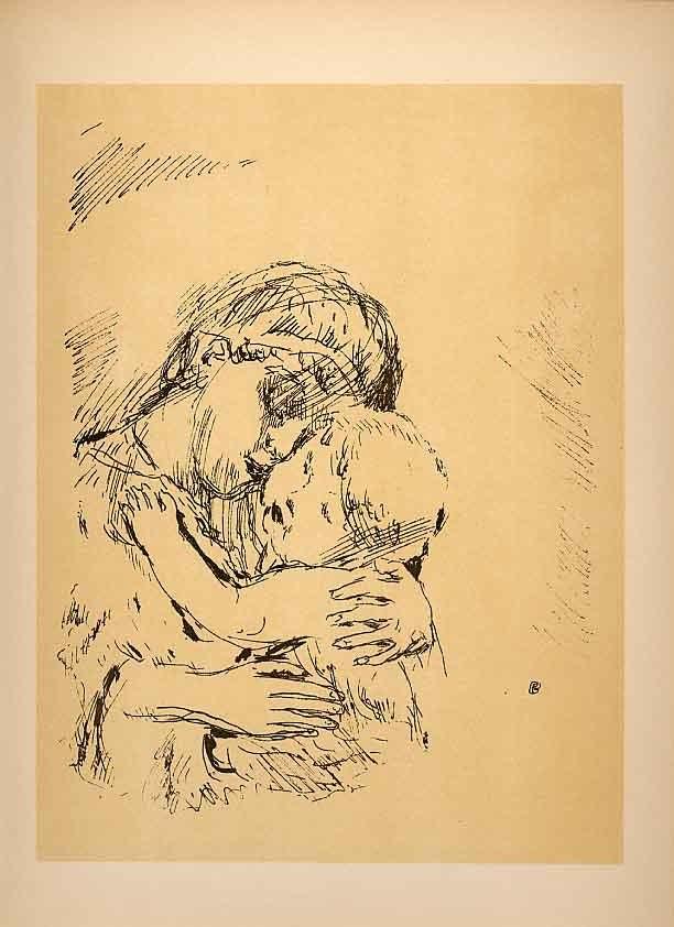 Bonnard Lithograph173, Saint Monique 1952