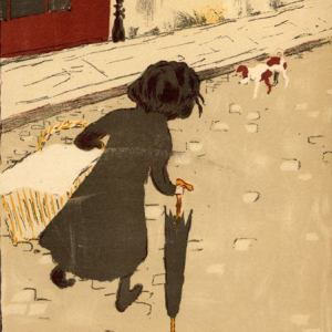 Bonnard Lithograph 1, Le petite blanchisseuse 1952
