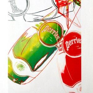 Andy Warhol print Perrier 6, Pop Art 1999