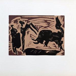 Pablo Picasso 40, Linogravures Banderilles 1962