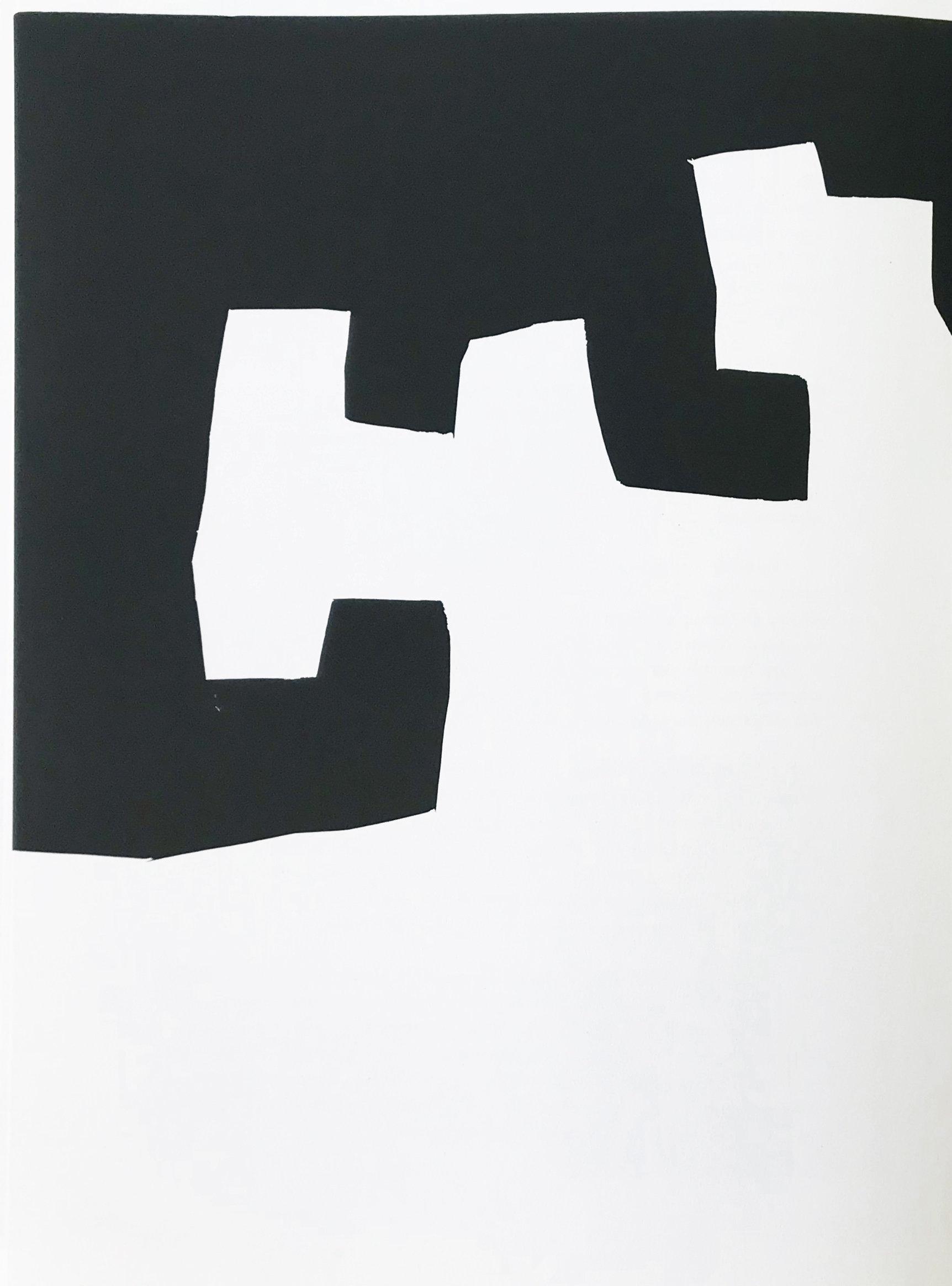 Eduardo Chillida, Original Lithograph, DM03204L, Derriere le miroir 1973