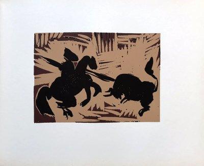 Pablo Picasso 41, Linogravures Pique 1962