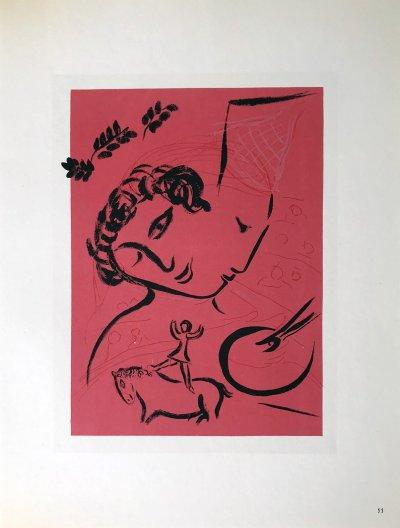 Marc Chagall, Lithograph vol 2, 1960 Sorlier