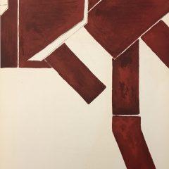 Pablo Palazuelo Original Lithograph 1955, DM00273