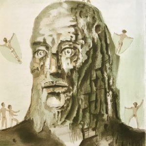 Stanislas Lepri, Hand Signed Original Lithograph, Diurnal 1972
