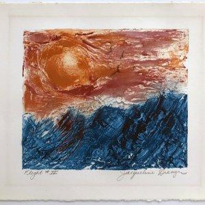 Jacqueline Dreager, Pencil Signed Original Lithograph, Modernism