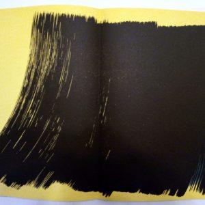 Hans Hartung , Pencil Signed & numbered Original Lithograph 4, Farandole 1971