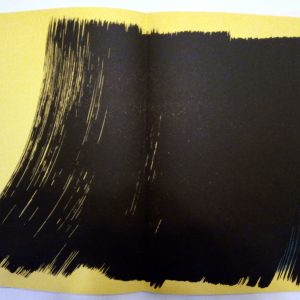 Hans Hartung Lithograph Farandole 4, Signed & numbered 1971