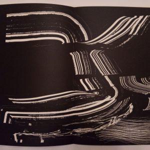 Hans Hartung Lithograph Farandole 12, Signed & numbered 1971