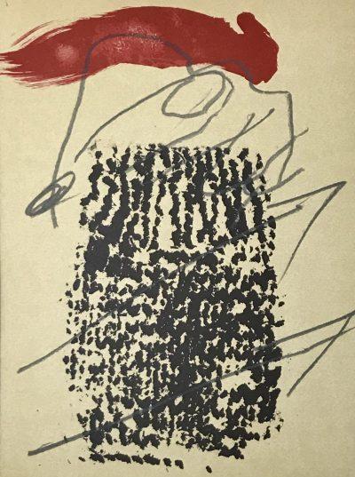 Antoni Tapies, Original lithograph, Ediciones Poligrafa 1979