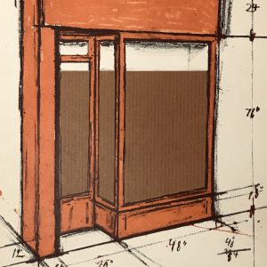 Christo Vladimirov Javacheff, Original lithograph, Ediciones Poligrafa 1979