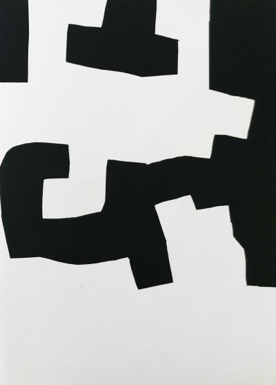 Eduardo Chillida, Original Lithograph, DM02204r, Derriere le miroir 1973