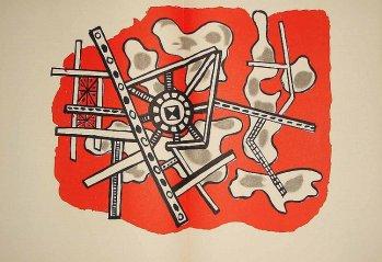 Fernand Leger Original lithograph 1949,Derriere le Miroir DM022021d