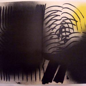 Hans Hartung, Pencil Signed & numbered Original Lithograph 2, Farandole 1971