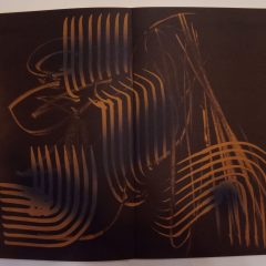 Hans Hartung Lithograph Farandole 6, Signed & numbered 1971