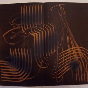 Hans Hartung, Pencil Signed & numbered Original Lithograph 6, Farandole 1971