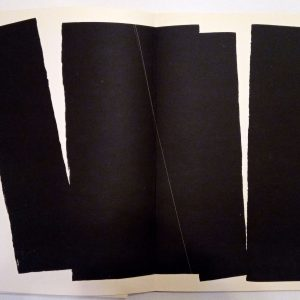 Hans Hartung , Pencil Signed & numbered Original Lithograph 10, Farandole 1971