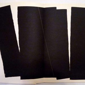 Hans Hartung Lithograph Farandole 10, Signed & numbered 1971