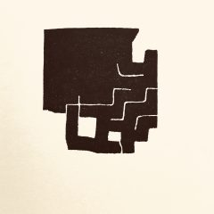 Eduardo Chillida, Lithograph 3, Maeght Editeur 1975