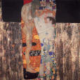 Gustav Klimt, The three ages of a woman,  Giclee  L,E.  numbered,   Art Nouveau,  Symbolism