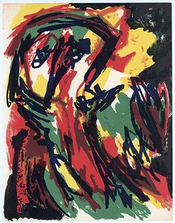 1981 Karel Appel Original Lithograph XX siecle