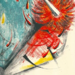 Tamayo lithograph Apocalipsis Apocalypse of Saint John