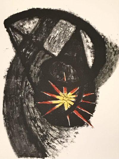 Rufino Tamayo, Original Lithograph 8, Apocalypse of Saint John