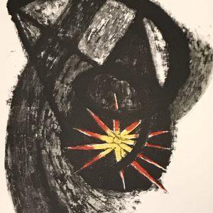 Tamayo Lithograph 8, Apocalypse of Saint John