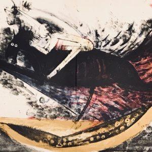 Rufino Tamayo, Original Lithograph, No. 11d, Apocalypse of Saint John