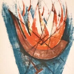 Rufino Tamayo, Original Lithograph, No.6, Apocalypse of Saint John