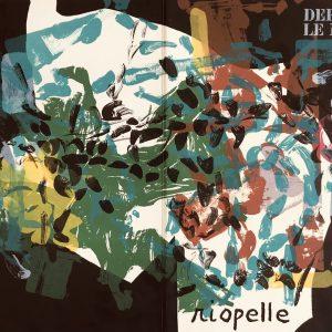 Book Derriere le Miroir 171, 1968 contains 10 lithographs