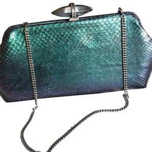 Judith Leiber Clutch with Snake leather