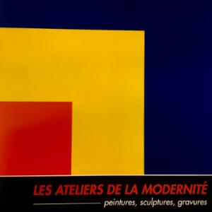Ellsworth Kelly, poster Lithograph, Les ateliers de la moderniteite