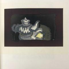 """Braque Lithograph """"la theiere grise"""" 1963 Mourlot"""