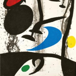 Joan Miro, Poster, Au dela de la peinture, Maeght