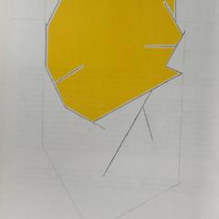 Pablo Palazuelo, Original Lithograph, DM06184, Derriere le Miroir 1970