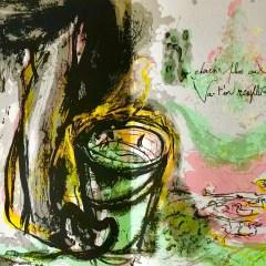 """Pierre Parsus Original Lithograph """"Les-sabots d helene"""""""