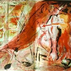 """Pierre Parsus Original Lithograph """"Penelope"""""""