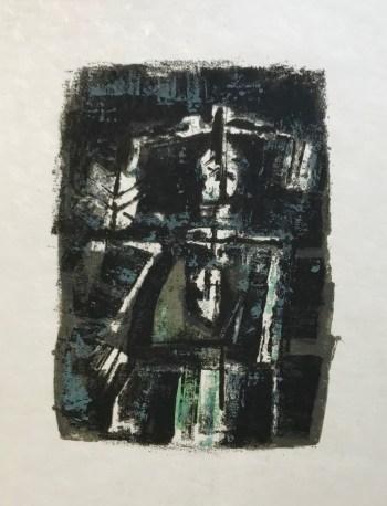 Orlando Pelayo 1, Original Lithograph, Mourlot 1962