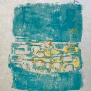 """Orlando Pelayo """"3"""" Original Lithograph 1962, Mourlot"""