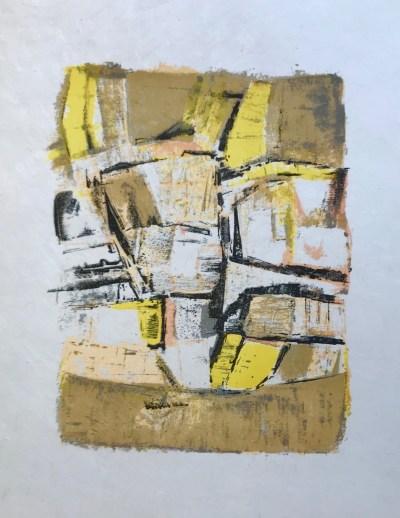 """Orlando Pelayo """"6"""" Original Lithograph 1962, Mourlot"""